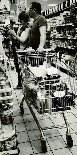 Store. Grocery Shopping Shopping Streetphotography Black And White