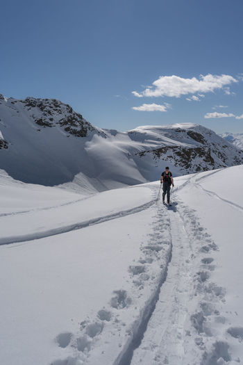 Skitouring in the alps