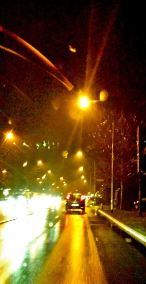 Driving Night Night Lights Night Photography Night Drive Lights Lights And Shadows Showcase: February Reflections Reflecting Light Street Traffic Traffic Lights Night Traffic Night Travel Night View Street View
