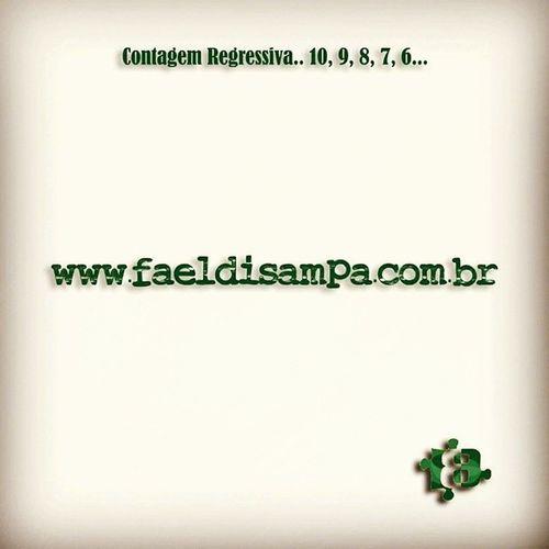 """Contagem Regressiva 10, 9, 8, 7, 6... Dentro de algumas horas o novo site http://www.faeldisampa.com.br elaborado em conjunto com a @agencia3b estará no """" Ar """" !! Parabéns @brunoalves_s e toda Equipe Agencia3B pelo Trabalho! Ficou Lindo!! DeusNoComando DevagarAGenteChega FaeldiSampa SiteNacional PretinhoBásico Amazing Summer PhotoOfTheDay Instagood SiteOficial Agencia3BMaceió FéEmDeus Sucesso ExCasaldeNamorados Brasil Alagoas Maceió World Sound Music Brazil"""