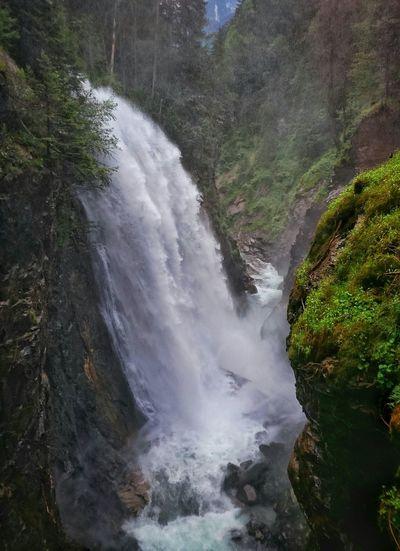 Waterfall Montains    Alps Italy Altoadige Südtirol Landscape Creek The Week Of Eyeem