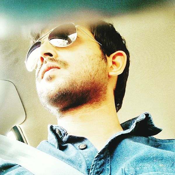 A Drive To Remember Longdrive Beard Hi Rayban Volkswagen Indianguy Indian Golderskin Drive Drivesafe Handsome Selfie