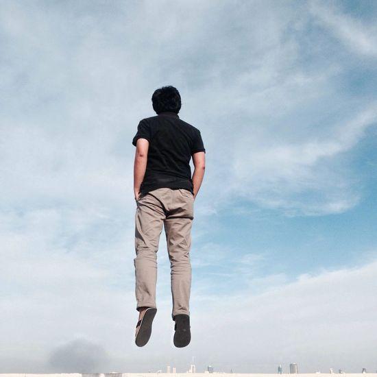 Cloud Flying Levitation Enjoying Life