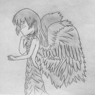 Minha irmã desenha demaaais ♡ Draw Angel