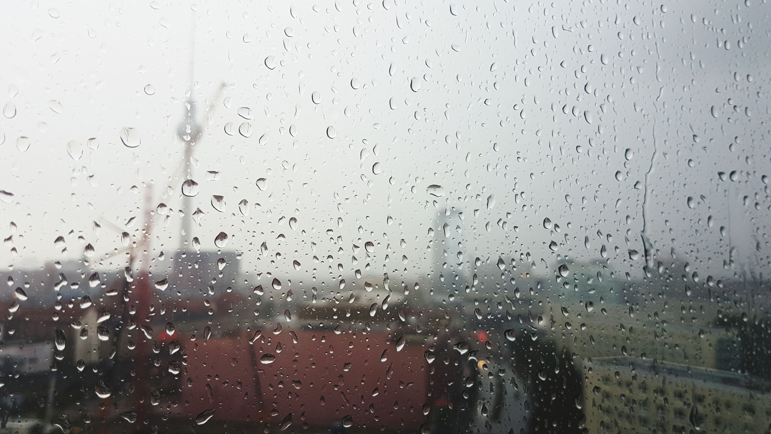 transparent, window, glass - material, drop, wet, indoors, rain, water, no people, raindrop, weather, land vehicle, day, backgrounds, close-up, sky, nature