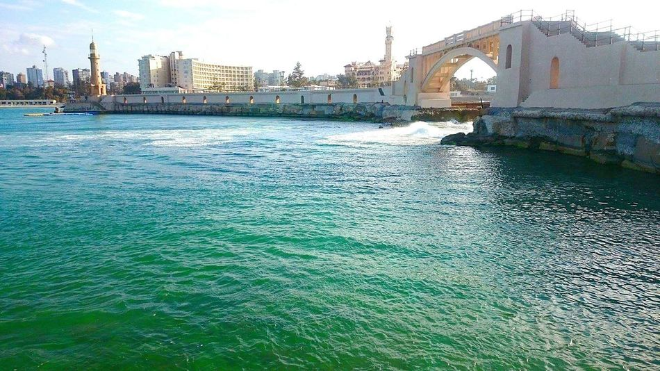 Beautiful Nature Sea Colours Sea_collection EyeEm Nature Lover EyeEm Sea Collection Seascape Seacity Alexandria Egypt Travel Destinations Travel Photography Egypt Mediterranean Sea Waves Wave Colours Beauty In Nature Beautiful Amazing View Check This Out My Point Of View Travel Cool Place Clear Water