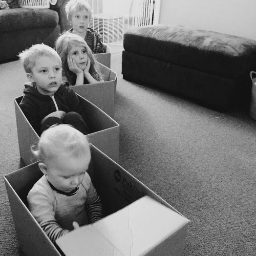 Packing them up Tadaa Community Newzealand Blackandwhite My Son My Daughter Motherslove My Three Sons