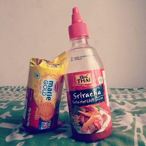 Everything tastes great with Sriracha Mariegold