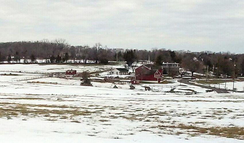 Taking Photos Harleysville, Pa Showcase: February Farmland Farm Snow Farm Animals Farmhouse Barn Beautiful Landscape From My Car Landscape With Whitewall Lost In The Landscape