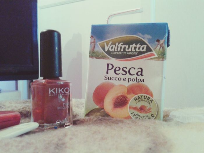 Afternoon Peach Nail Lacquer