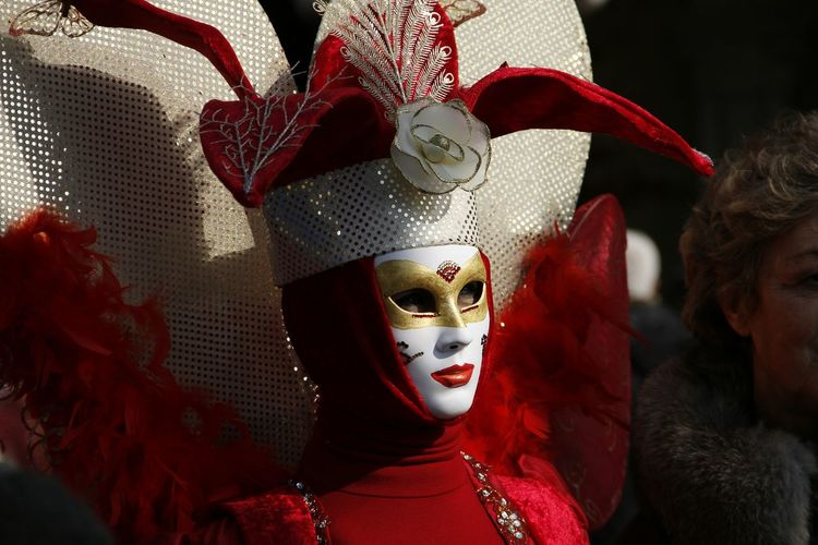 The Purist (no Edit, No Filter) EyeEm Best Shots Mask Collection Venice Carnival Venice, Italy Venetian Mask Streetphotography