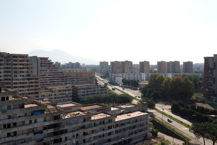 Scampia Apartment Architecture Broken Down House Building Exterior Built Structure Cityscape Day Documentary Failure  High Angle View Lost Place Napoli Outdoors Residential Building Roof Sails Scampia Skyscraper Social Housing Urban Skyline Vele