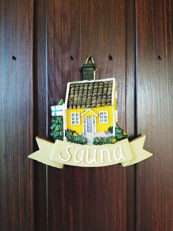 Finland Sauna Sign Door Summer Food And Drink Welcome Sign Information Written Text
