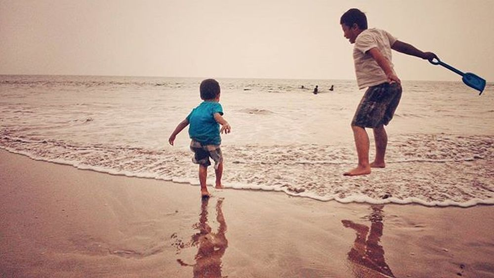 . JUMP Beach Sea Wave Kids Kid Ig_mood Toned Anyer  INDONESIA