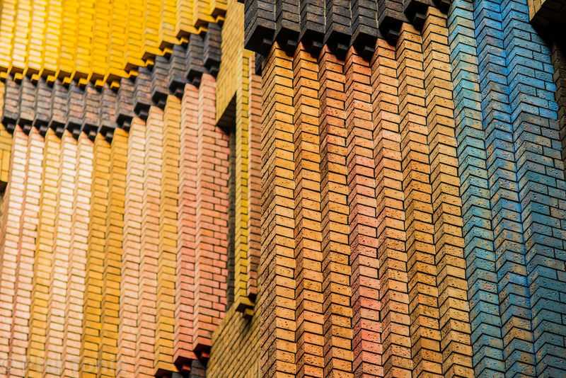 1920's Style 1920s 1930's Architecture 1930s Architecture Art Deco Art Deco Architecture Bricks Building Building Exterior Close-up Day Full Frame Historic Interior Design Interiour Landmark No People Outdoors Peter Behrens Yellow Paint The Town Yellow