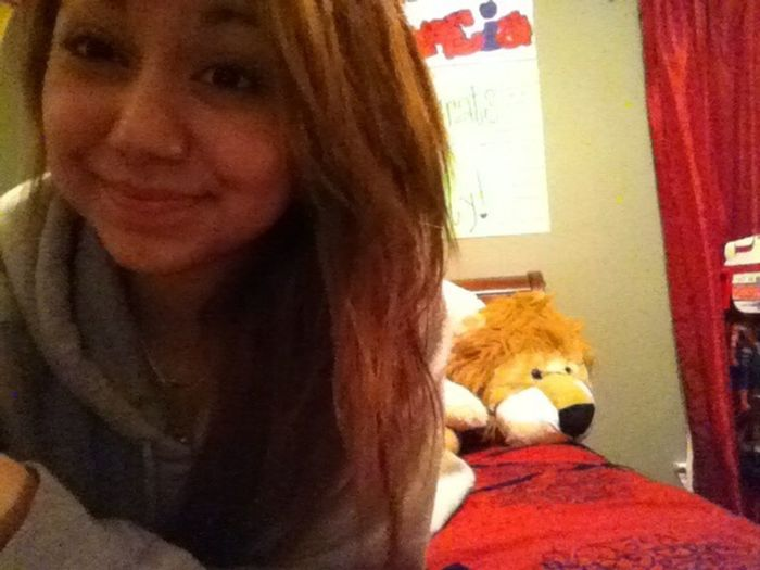 Out Of The Shower, Poops Sweater, Im Ready For Bed. Good Nighttt.