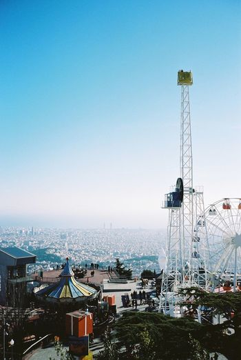Contax T3 Kodak Portra 35mm Film Film Barcelona Everyday Lives Tibidabo Skyporn Amusement Park Enjoying Life
