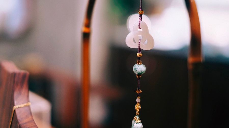 Hanging Focus On Foreground Close-up No People Jewelry Spirituality Belief Necklace Decoration