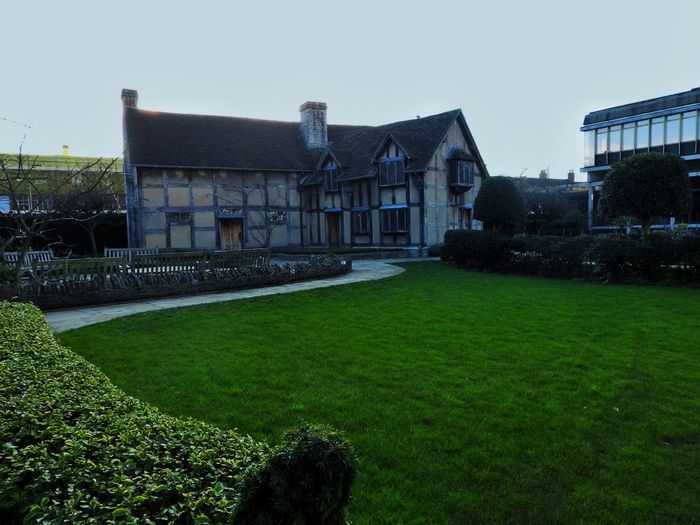 Architecture Birth Place Built Structure Famous Famous Building Famous People Famous Place Historic Historical Building History Lawn Old Old Buildings Old House Play Stratford-upon-Avon William Shakespeare Window Writer