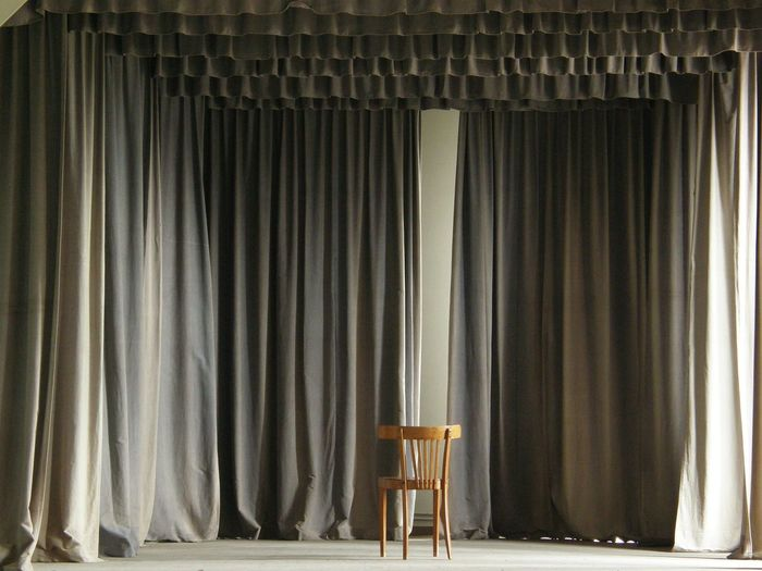 Abondoned Arts Culture And Entertainment Auditorium Chair Curtain Day Empty Grey Indoors  Monastery No People Performance Quiet Stage - Performance Space Stage Theater The Still Life Photographer - 2018 EyeEm Awards