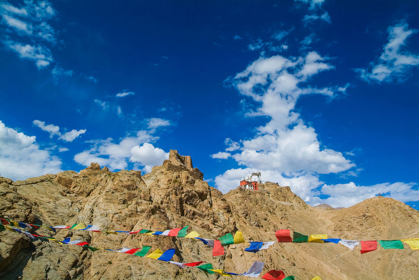 Tsemo Maitreya Cloud - Sky Fuji S3 Pro India Leh Mountain Outdoors Sky Travel Travel Destinations Tsemo Maitreya