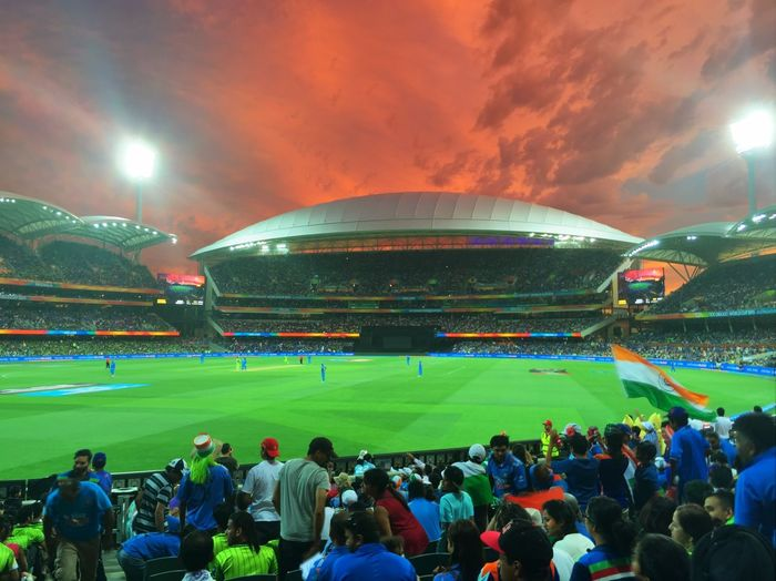 India vs Pakistan. 2015 World Cup at Adelaide Oval First Eyeem Photo Sunset CricketWorldCup Adelaide Oval