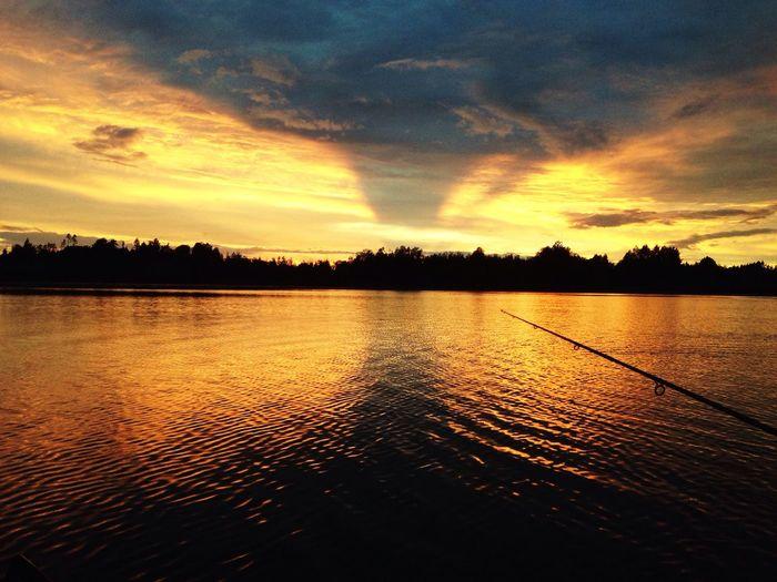 озеро Lake Природа Nature Закат Sunset First Eyeem Photo