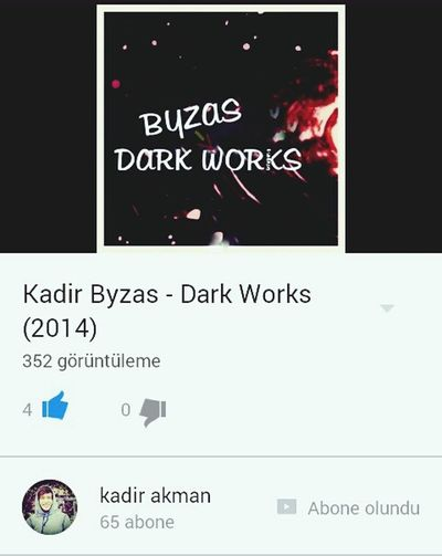 My New Song My New Song If You Listen You Listen ı'm Happy Happy I Make Music Dark Works