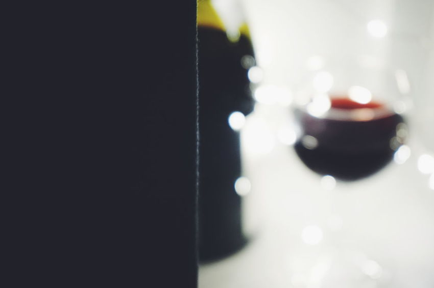 Close-up Indoors  No People Bokeh Lights Backgrounds Golden Wine Wine Moments Golden Shimmer Golden Moment Drinking Glass Alcohol Wine Bottle Wine Tasting Abstract Winebottles Food And Drink Drink Illuminated Wineglass Night Indoors  Wine Not