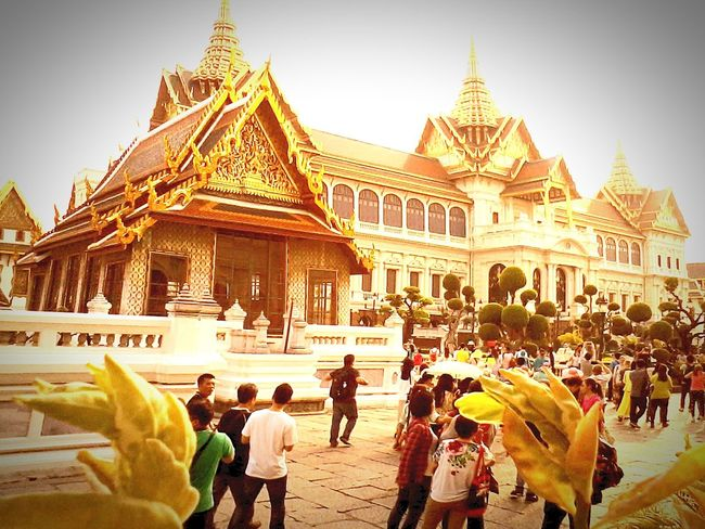 Photo Of The Day ,photoing A View ,Wat ,Wave, Wung(The Grand Architecture EyeEm Thailand