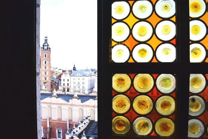Window view Architecture City Outdoors Day Cityscape Kraków, Poland Krakowpoland Krakow Poland Window Display Window View Window Windows