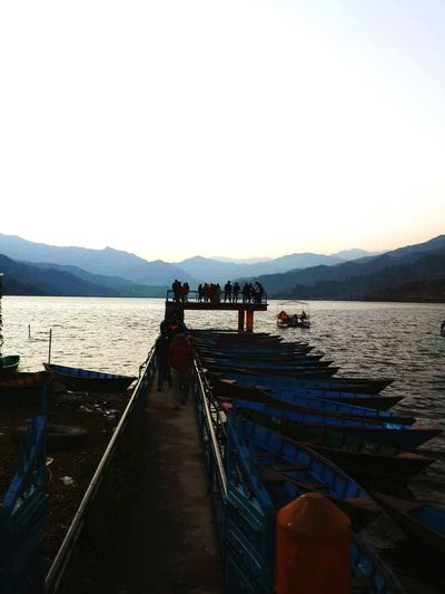 A sunset to remmber Nepal Lake Lake View Lakeside Lakeview Lakelife Boats⛵️ Boats Boating Boat Trip Nepal TravelNepal Travel Nepaliculture Nature Nature_collection Nature Photography Naturephotography Feel The Journey