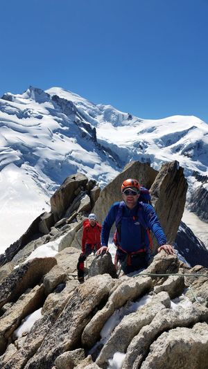 Great day on the Arête des Cosmiques! Chamonix-Mont-Blanc Scramble Mountains SummerAlps