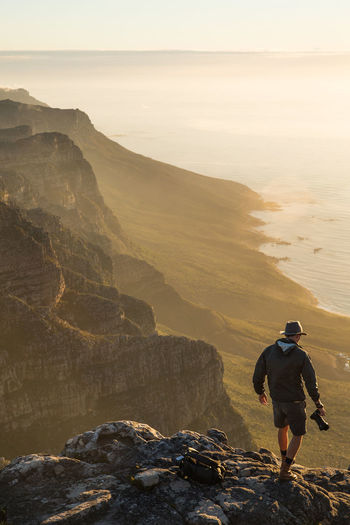 Adventure Adventurer Cape Town Cape Town, South Africa Explore Explorer Leisure Activity Lifestyles Lion's Head Mountain Mountain Range South Africa Sunset Table Mountain Table Mountain View Travel Destinations Travel Photography