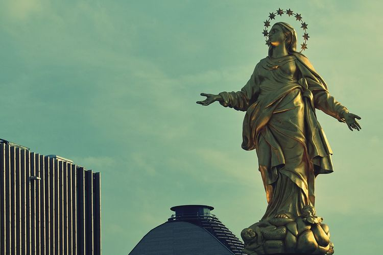 """Statue Sculpture Expo 2015 Milano Architecture La Madonnina la """"Madunina"""""""