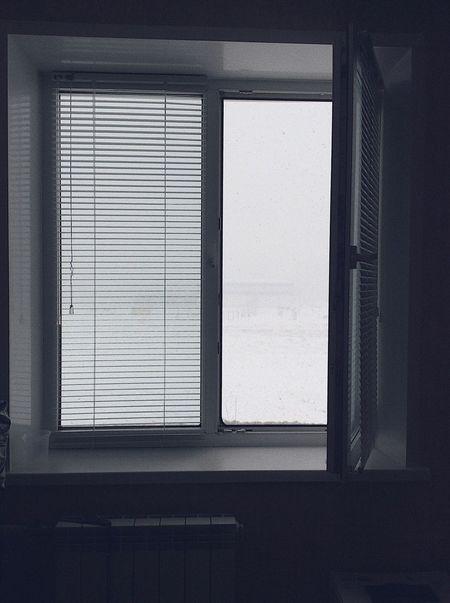 Black & White Window No People Day Winter Jalousie Jalousie Window