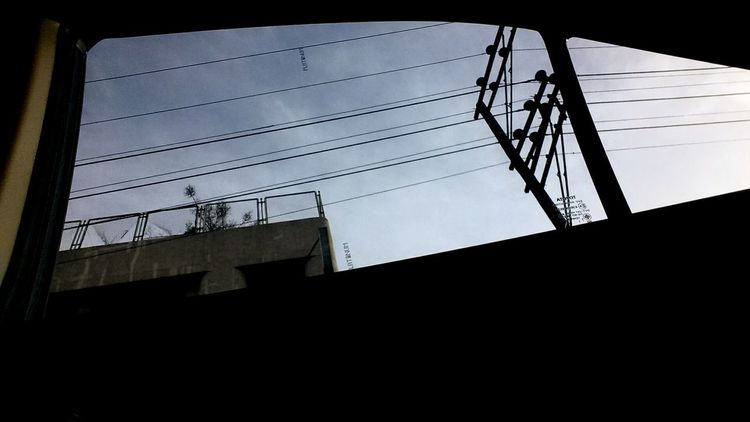 Streetphotography Silhouette Blue Power Lines Below Travel Ramble Photography Photo Diary First Eyeem Photo