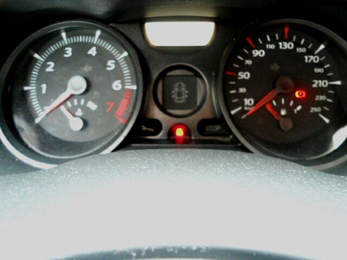 Dashboard Renault Dashboard Renault Car Alarm Sign d Defect
