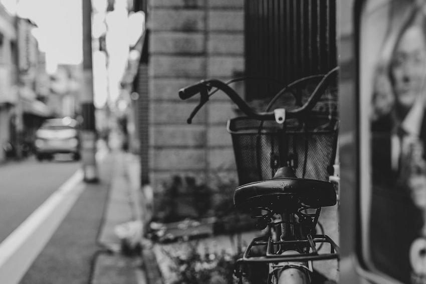 Bnw Noiretblanc Myperspective Blackandwhite Focus On Foreground Close-up No People Transportation Day Land Vehicle Mode Of Transportation