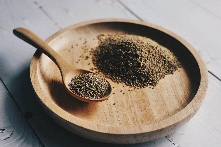 millet Millet Millets Farm Sorghum Sorghum Field Organic Organic Food Seeds Seed Food Grains Studio Shot Preparation  High Angle View Close-up Food And Drink