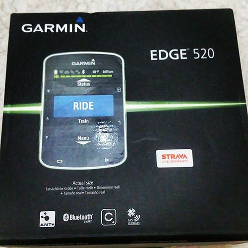 New toy Garmin Garminconnect Garmin520