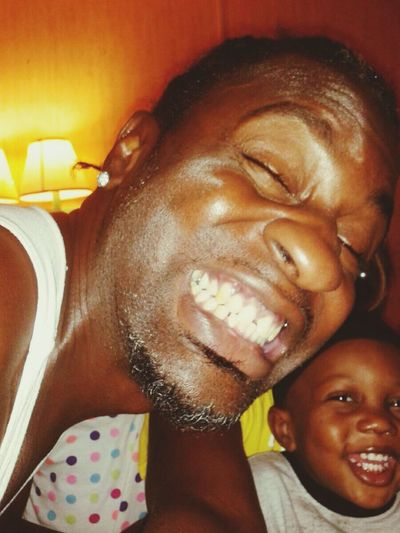 Everyday Joy MAKING MY SON SMILE AND LAUGH IS TRUE HAPPINESS TO A REAL FATHER THATS NOT RICH WITH MONEY, BUT RICH HAPPINESS. .