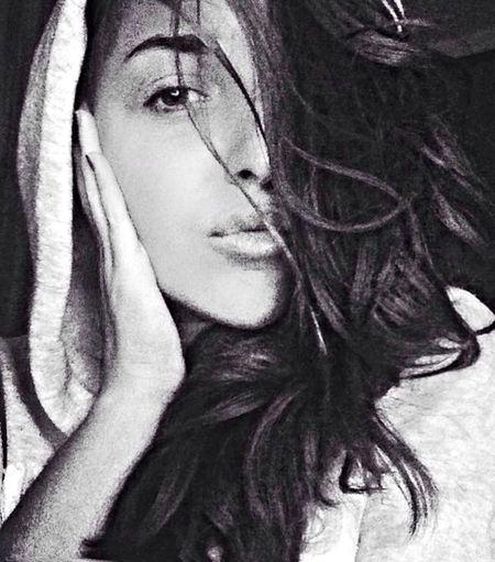 Girls Blac&white Monochrome Blac&white  Selfie ✌