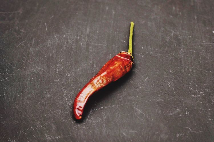 Red No People Close-up Indoors  Europe SPAIN Madrid Hot Spicy Chili  Food Chili Peppers Foodphotography Dark Background Black Red Color