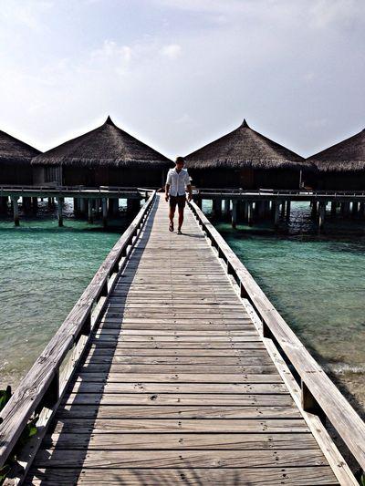 Relaxing Hanging Out Maldives Enjoying Life