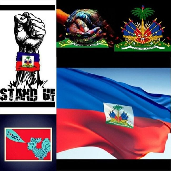 One flag, one land, one heart, one love L'Union Fait La Force Happy Haitian flag day to all my zoe, all my 509 ZoeDay FlagDay May18 MdamouwHaiti proudHaitian