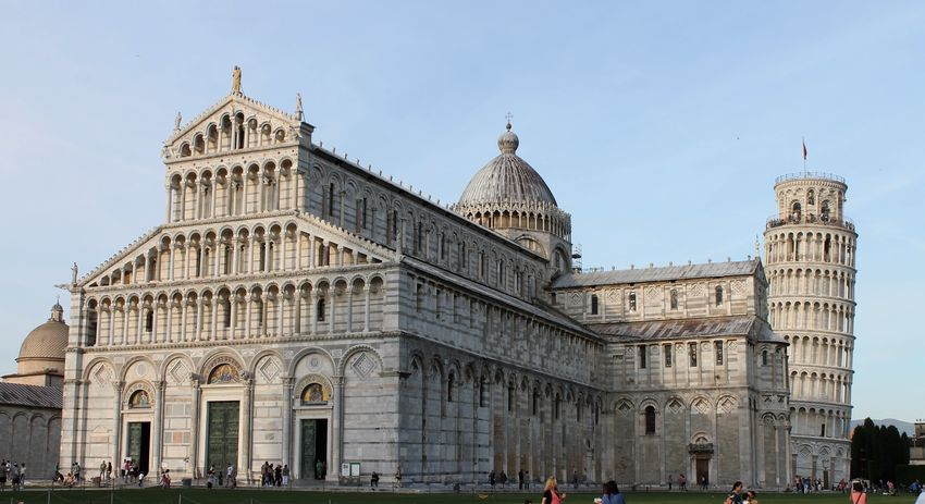 Architecture Building Exterior City Day Frainf History Italy Outdoors People Pisa Pisa Cathedral Pisa Tower Sky Toscana Travel Destinations Your Ticket To Europe