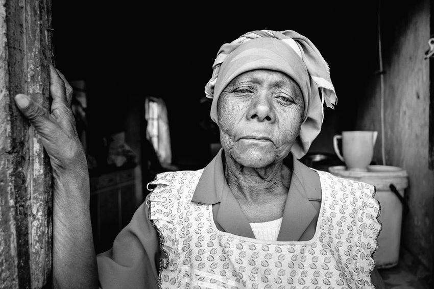 Portrait Of A Woman Black And White FUJIFILM X-T1 Open Edit Natural Light Vscocam