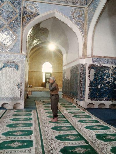 Tebriz Tabriz Iran Bluemosque Masjed  Ezan Azan Praying Cami Namaz