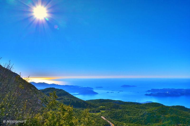 Kaş asas dağı turu 📷📽🏍 1📷= asas dağının zirvesinden Manzaramız budur Kabapınar Yeniköykaş Mountain Asasdağı Kas MEIS